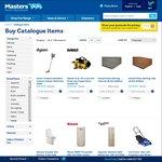 Masters Catalogue: Dyson Animal V6 $539 Save $160, Rimless Toilet $199, 20% off Potting Mix