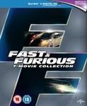Fast & Furious 1-7 Blu-Ray Boxset (Includes UltraViolet Copy) $37 Delivered @ Zavvi