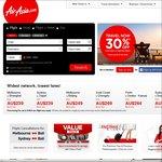 Kuala Lumpur Return ex Perth $189 @ Air Asia