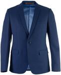 Jack London Black Pindot Suit $74.40, Slim-fit Navy Blue Suit $112.70 Delivered
