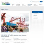 Port Open Days – Free Boat Tours of The Port of Melbourne