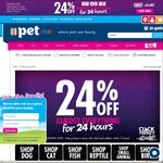 24% off Almost Everything (Click Frenzy) @ PETstock