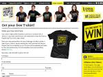 EXPIRED Free Tshirt + Chance to Win an iPod Touch Weekly