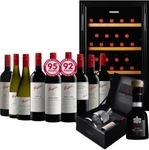 $8888 Penfolds Wine Pack + Wine Fridge Dan Murphy's RRP $10156