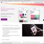 Unmetered Apple Music Streaming @ Telstra (Prepaid and Postpaid Customers)