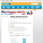 10% off Promo Code @ Secure Parking Secure-a-Spot for Chinese New Year