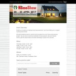 50% off Home Show Tickets - Melbourne ($11)