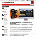 Get MetalliPack Collection Free for IK Multimedia Amplitube (OSX or Windows) - ($/€75 Value) Free