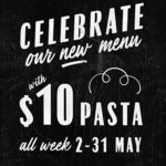 Selected Pasta $10 at Jamie's Italian during May (Pasta Special Changes Weekly)