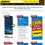 Free $200 JB Hi-Fi Gift Card When You Sign up for a 24 Month Mobile Plan above $75 with Telstra @ JB Hi-Fi