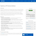 Free Sophos UTM Firewall Software [Need a Spare PC with Two Network Ports]