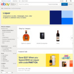 Save $20 When You Spend $100 on Liquor @ eBay