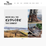 40% off Everything @ Wild Rhino Shoes + Shipping or Free with if Spend > $100