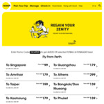 $25 Off Selected FLYBAG & FLYBAGEAT Fares @ FlyScoot