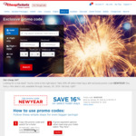 16% off Selected Hotel Bookings (Max US $150 Discount) for Travel up to 30 Sep 2018 @ CheapTickets