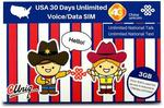 30% off USA Travel SIM - $31.50AUD + Free Shipping - 3GB Data + Unlimited Calls/Texts @ SimsDirect Sydney