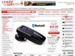 Bluetooth Compact Wireless Headset V2.0 Compliant - PDA, PC & Laptop Compatible ONLY $33.95 @ CS