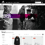 Up to 50% off Outlet Sale @adidas Online +(Cashrewards 7% back) FREE SHIPPING