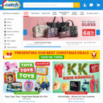 4% off Starcash/Webjet, 5% off Jetstar, up to 25% off Village/Event Cinemas and More Gift Cards @ Catch (Club Catch Required)