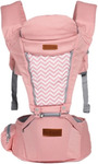 Baby Carrier with Weight Bearing Seat (Salmon Pink) $89 FREE Shipping @ BabyBobek