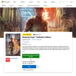 [XB1] Sleeping Dogs: Definitive Edition $9.99 ($5.99 for XBL Gold Members) @ Xbox Store