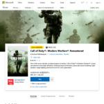 [PC] Call of Duty Modern Warfare Remastered (Digital Version) - $29.97 @ Microsoft