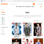 Star-Wars Themed Suits from $75 and Other Novelty Themed Men's Suits $65 ~ $112.49 with Free Shipping at Opposuits