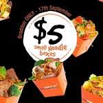 [ACT] $5 Small Noodles Box @ Wokitup (Braddon)