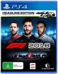 [PS4] F1 2018 Headline Edition $52.43 Delivered @ Amazon AU
