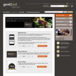 Good Food Gift Card - $20 Off $200, $50 off $400, $75 off $500 @ Good Food Card