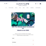 Win a Beach Accessories Kit Worth $627.20 from Sunnylife