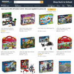 Save up to 20% off Select LEGO + Delivery or Free over $49/with Prime @ Amazon AU