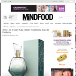 Win 1 of 4 Mary Kay Dream Fearlessly Eau de Parfums Worth $62 from MiNDFOOD