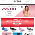 50% off Everything / No Exclusions / No Min Spend / Free Delivery @ Crocs Australia