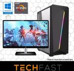 """R5 2600 RTX 2080 + 27"""" AOC Monitor Bundle: $1699 / R5 RX 580: $699 Delivered @ TechFast (+ Free Wi-Fi USB)"""