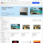 20% off Selected Sellers - Appliance Central, Edisons, Mytopia Store (5 Trans, Max $1000 Discount) @ eBay