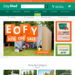 30% Off Sitewide Sale @ EasyShed