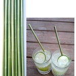 Disposable Grass Straws Biodegradable Alternative to Plastics, Steel & Glass 50pcs for 13.95 (Free with Prime/ $49 Spend)