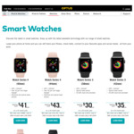 Optus 20% off $35 P/Mth 30GB 24mth Plans with Watches E.g. Galaxy46mm - $33p/Mth or Apple4 44mm - $41 P/Mth
