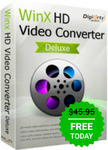 Free Download of Winx HD Video Converter Deluxe 5.15.3 ($45.95 Value) @ Giveaway of The Day