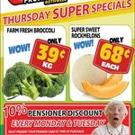 [QLD] Broccoli $0.39/kg, Rock Melons $0.68 Each @ Northside Fruit Barn (Rothwell)