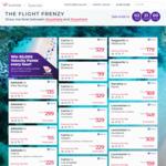 Virgin Australia Flight Frenzy PER to KGI $129, ADL $149, DRW $159, to MEL/SYD/BNE $169