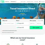 15% off Travel Insurance at Travel Insurance Direct (TID)