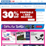 10% off Sitewide, 15% off Samsung TV's, 15% off Air Conditioners @ The Good Guys
