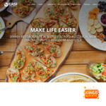 $8 off Food (No Min Spend) @ EASI App (Pick up / Delivered, New Users Only)