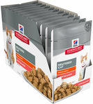 But 1, Get 1 Free - Hills Science Diet Adult Cat Salmon Pouches 24x85g - $21.95 + Free Delivery* @ Jumbo Pets