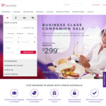 Virgin Australia Discount Code - for 7-15% off Eligible Economy and Business Fares (Domestic, NZ, HK and Fiji)