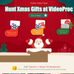 [Win, Mac] Christmas Gift Offer - VideoProc V3.5 Video Processing Software 1-Month VIP Membership Free @ Videoproc