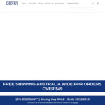 15% off Sitewide (Free Shipping over $49) @ Sirui