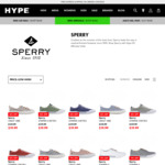 Sperry Shoes from $19.99-$24.99 (Was $119.99) up to Size 13, Superga 2730/2853 $24.99 (Was $119.99) @ Hype DC (+Shipping/0+C&C)
